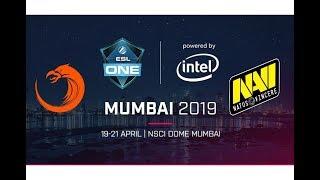 [ENG]- TNC vs NAVI BO3 - ESL One Mumbai 2019