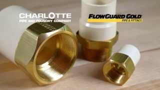 Lead Free Flowguard Gold Fittings