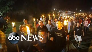 White nationalists, counterprotesters clash at University of Virginia