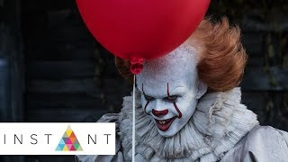 You Won't Believe How The Cast of 'IT' Reacted To Seeing Pennywise | Instant Exclusive | INSTANT