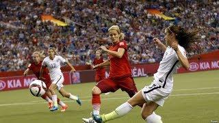 20 bàn thắng bóng đá nữ gây sốc cho các cầu thủ bóng đá nam