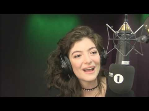 Lorde Grimmy BBC Radio 1 2017