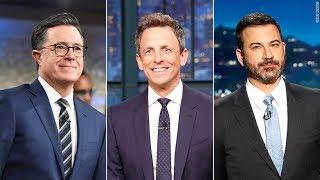 Late Night in the Age of Trump, Stephen Colbert, Seth Meyers, Jimmy Kimmel, John Oliver, Trevor Noah