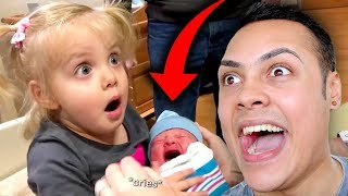 REACTING TO BABIES DOING DUMB THINGS