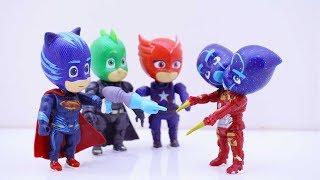 Superheroes Pj Masks Learn Colors For Childrens