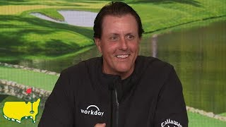 Phil Mickelson - 2019 Masters Interview