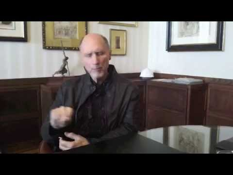 Pulitzer Prize Winner Robert Olen Butler Visits the Mount - YouTube