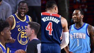 """NBA """"Heated"""" MOMENTS (2021 NBA Season)"""