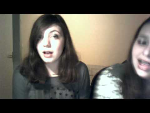 Us singing The First Noel in the style of Aly & AJ (78violet) ! :D
