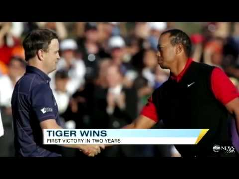 Tiger Woods volvio a ganar!!