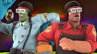 [TF2] Muselk Zombie Late Night DISCO PARTY!