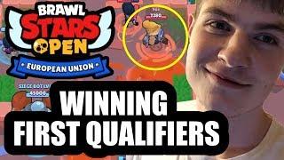 We WON the FIRST Brawl Stars EU Open Qualifiers / YDE