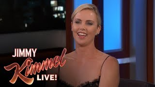 Charlize Theron's Mom Loves LeBron James
