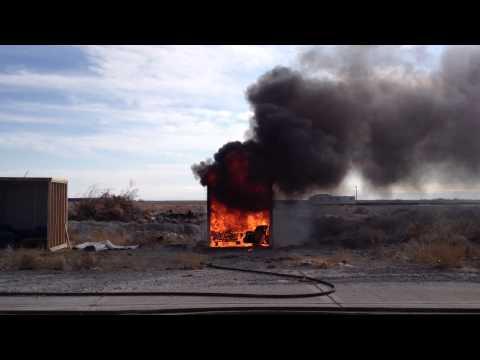 2012 Utah I.A.A.I Convention- Accelerant Burn Cell
