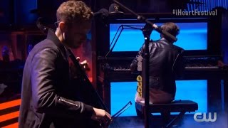 OneRepublic - Apologize +Kids (Ryan breaks a key) (iHeartRadio)