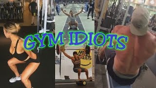 Gym Idiots - Hideous CrossFit Snatches & Brad Castleberry Cheat Rows