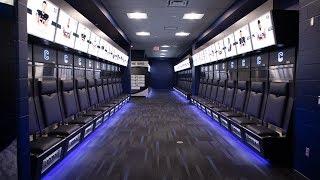 UConn Football Unveils New Locker Room
