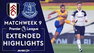 Fulham v. Everton   PREMIER LEAGUE HIGHLIGHTS   11/22/2020   NBC Sports