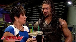 Vickie Guerrero's coffee run for The Authority leads to disaster: Raw, June 16, 2014