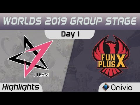 JT vs FPX Highlights Worlds 2019 Main Event Group Stage J Team vs FunPlus Phoenix by Onivia