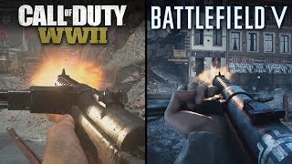 Battlefield V vs Call of Duty: WWII | Direct Comparison