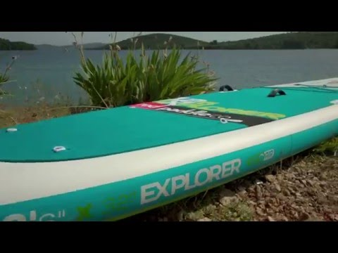 """Red Paddle Co Explorer 12'6"""" 2017 Stand Up Paddle Board"""