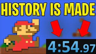 The Greatest Super Mario Bros Speedrun Ever Just Happened