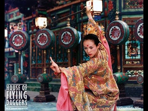 "House of Flying Daggers Trailer, Trailer for ""House of Flying Daggers"". ""House of Flying Daggers"" is a 2004 wuxia film directed by Zhang Yimou and starring Andy Lau, Takeshi Kaneshiro, and Zhang Ziyi."