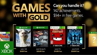 Xbox giving you aliens and goats in June