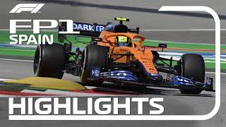 2021 Spanish Grand Prix: FP1 Highlights