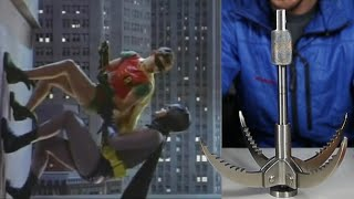Can you really use a Grappling Hook like Batman?!