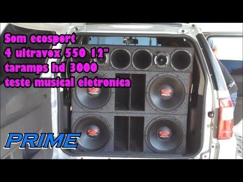 Baixar 4 ultravox 550 ultra com taramps 2.7 som ecosport testando musica eletro by prime sound car