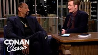 """Wilt Chamberlain On The Rumor That He's Slept With 20,000 Women - """"Late Night With Conan O'Brien"""""""