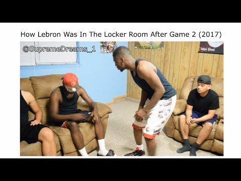 NBA FINALS 2017 ALL LOCKER ROOM VIDEOS LEBRON AND GOLDEN STATE! (FULL VERSION ORIGINAL CREATOR)