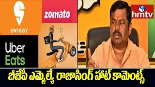 BJP MLA Raja Singh makes controversial remarks on online f..