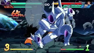 KID BUU 1.5 TOD with Cooler & SSJ Goku