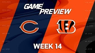 Chicago Bears vs. Cincinnati Bengals | NFL Week 14 Game Preview | NFL Playbook