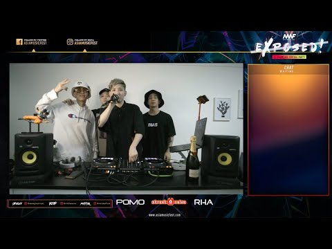 AMF EXPOSED! DJ Showcase Virtual Party Livestream - GHOST & Friends ft. RMB and MOXIDE