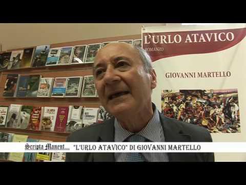 """Lamezia Terme, Maggio dei Libri """"L'URLO ATAVICO"""" di Giovanni Martello"""
