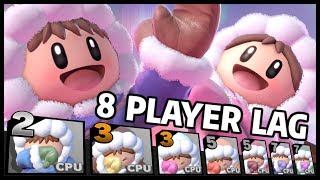 What if 16 Ice Climbers played 8 Player Smash? - Super Smash Bros. Ultimate