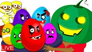 🔴 Haunted House Halloween Videos | Cartoons For Kids
