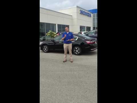 Jared Stewart on the Honda Accord