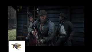 Red Dead Redemption 2 Robbing Gun Store And Getting More Than Asked For!