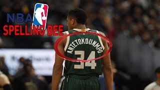 The OFFICIAL NBA Spelling Bee | KOT4Q