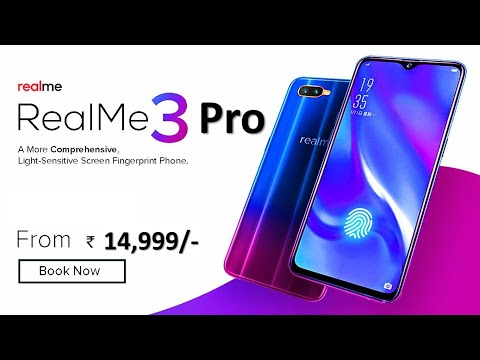 RealMe 3 Pro : Price Specifications Release Date in INDIA