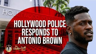 Hollywood Police Bans Antonio Brown From Facilities After Incident With Chelsie Kyriss