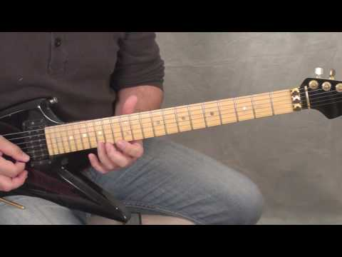 Edward Van Halen - 'Ice Cream Man' (Solo Section) - The Lesson! **Watch in 720p**