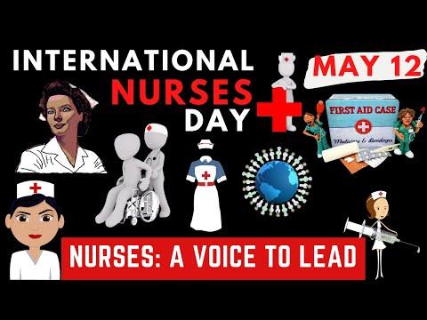 INTERNATIONAL NURSES DAY 2021 | A Voice to Lead | Happy Nurses Day 2021 | May 12 2021