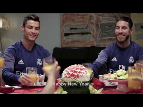 Real Madrid wish you a happy year of the Rooster!