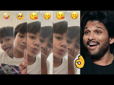 Allu Arjun's son Allu Ayaan's latest cute moments